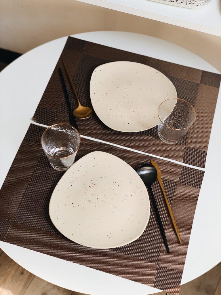 прямокутні підставки під тарілки
