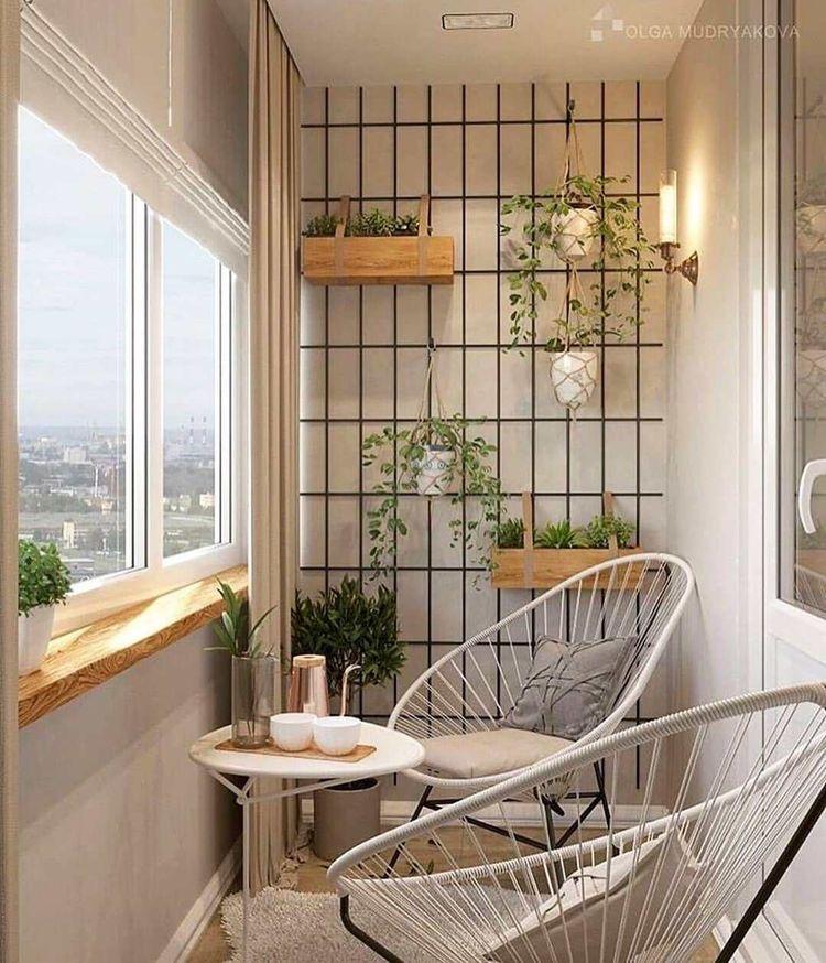 Simple Home Store - Як облаштувати балкон: ідеї для натхнення