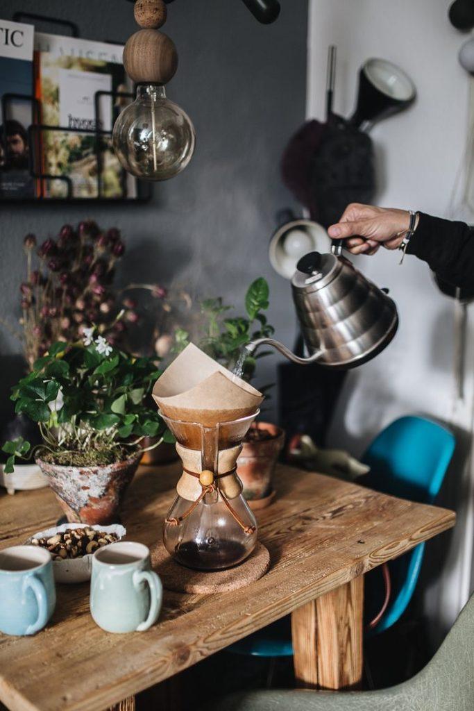 ручна кавоварка кемекс пуровер