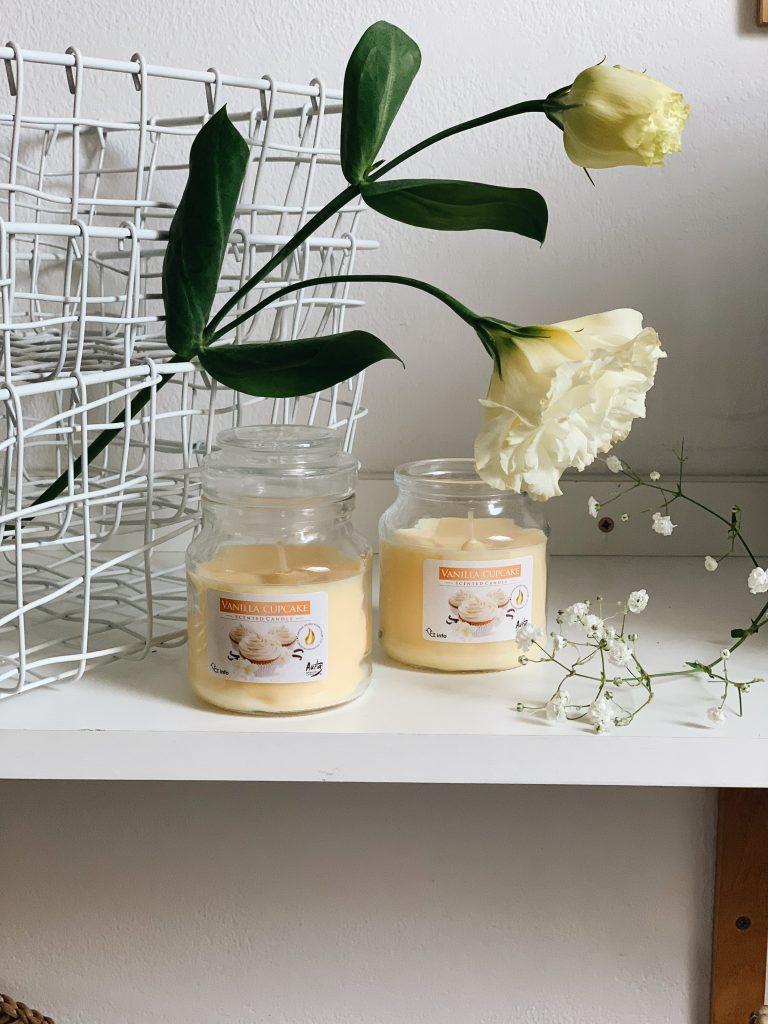 аромасвічки ваніль